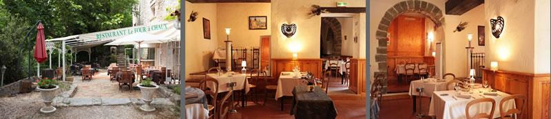 Le four chaux restaurant de cuisine traditionnelle entre for Restaurant caromb